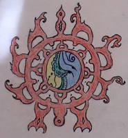 Hindu Symbol by JasonYoungdale