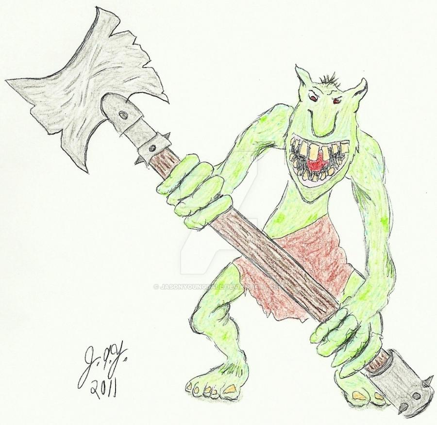 Troll by JasonYoungdale
