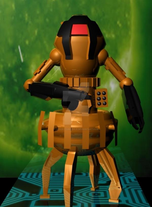 Sentry Bot Work In Progress by JasonYoungdale
