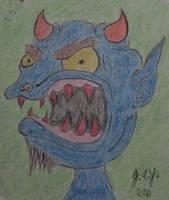 Smurf by JasonYoungdale