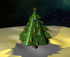 Christmas Tree 01 by JasonYoungdale