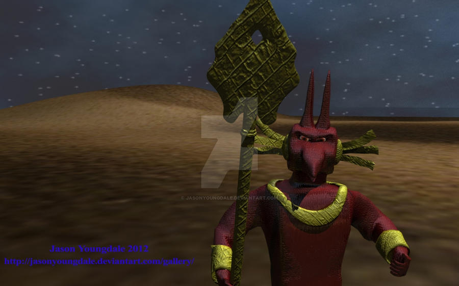 Anubis Warrior Final by JasonYoungdale