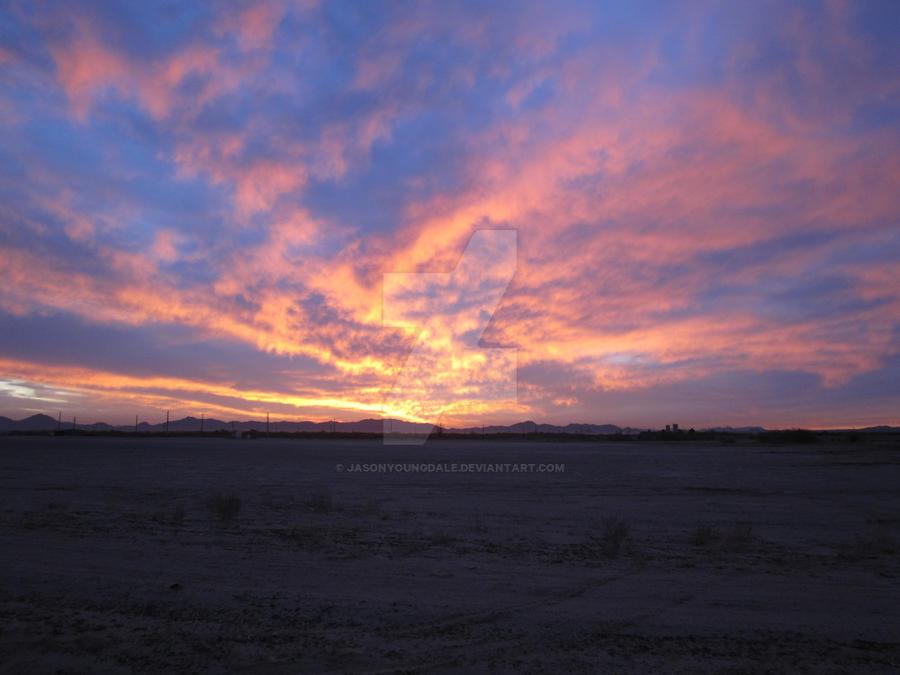 Maricopa Sunset 01 by JasonYoungdale