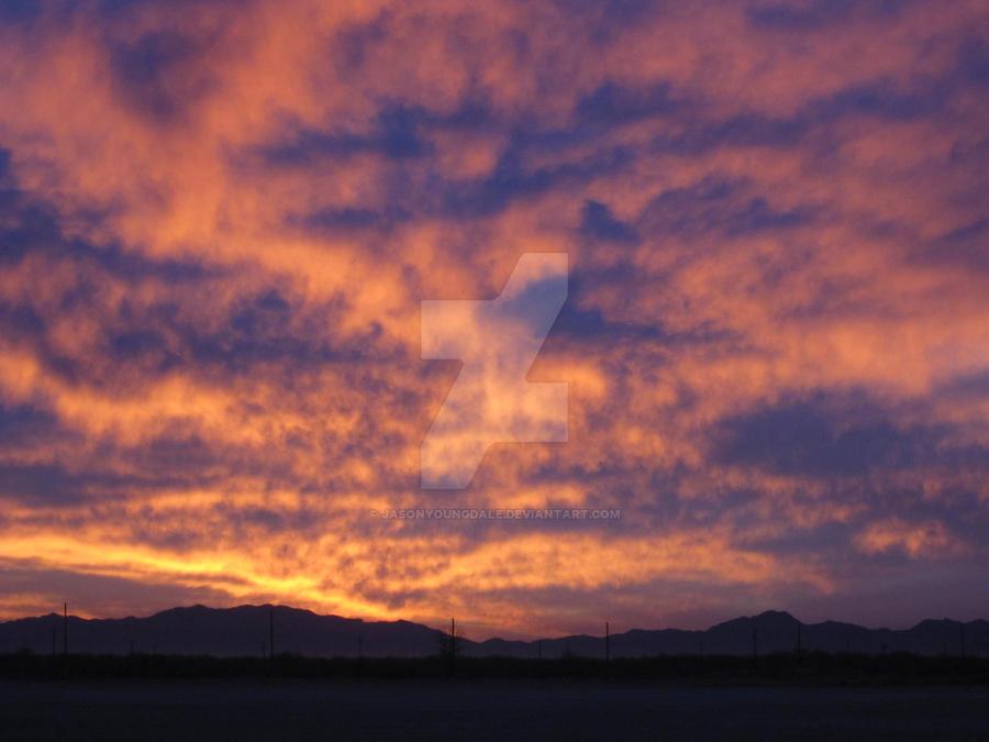 Maricopa Sunset 02 by JasonYoungdale