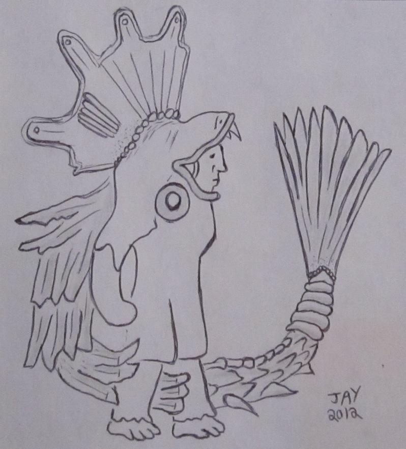 Quetzalcoatl01 by JasonYoungdale