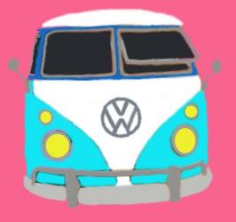 VW Bus by JasonYoungdale
