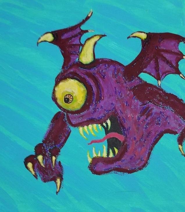 Burple the Purple People Eater by JasonYoungdale