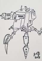 Robot Tripod Crawler