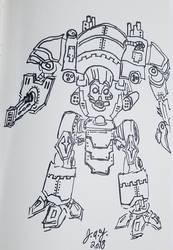 Robot Titan by JasonYoungdale