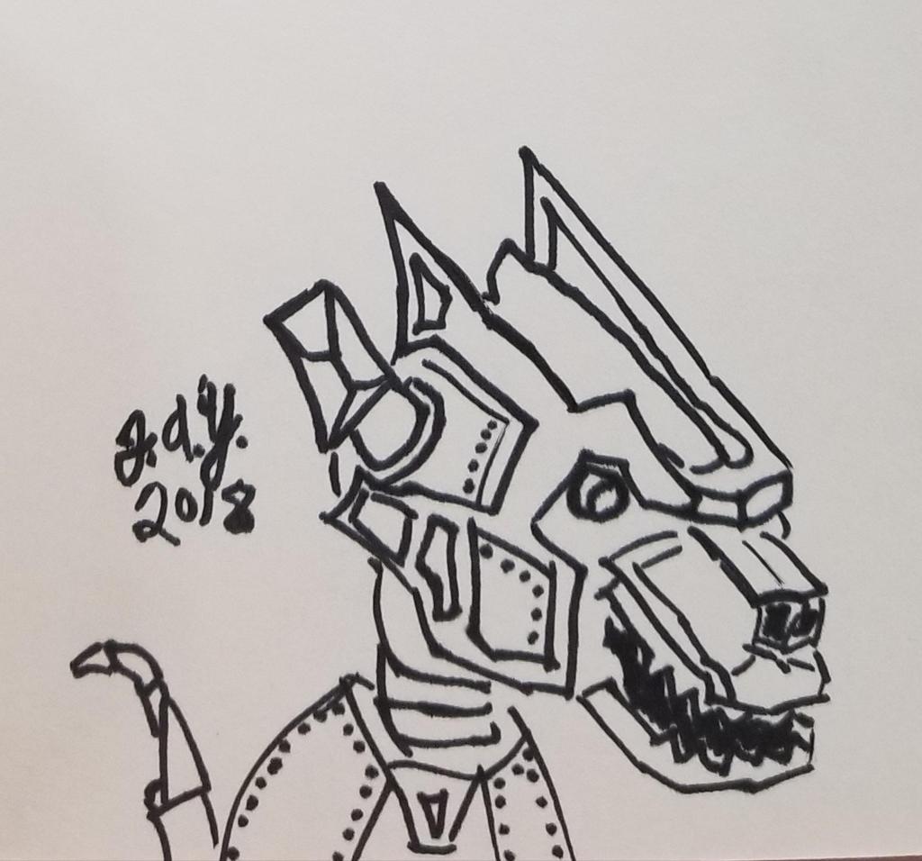 Robot Dog named Rogue by JasonYoungdale