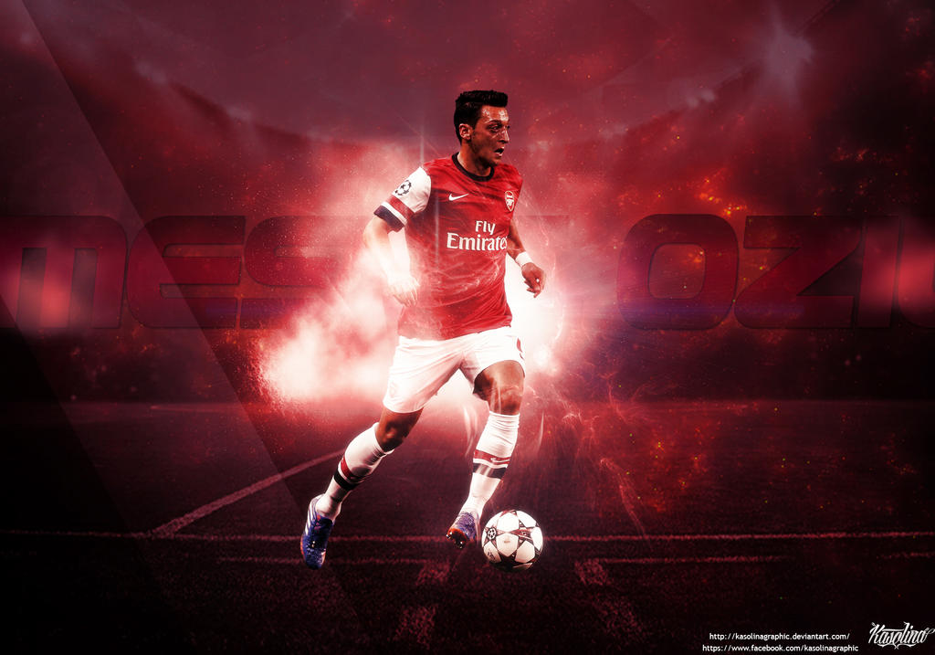 Mesut Ozil Wallpaper By KasolinaGraphic On DeviantArt