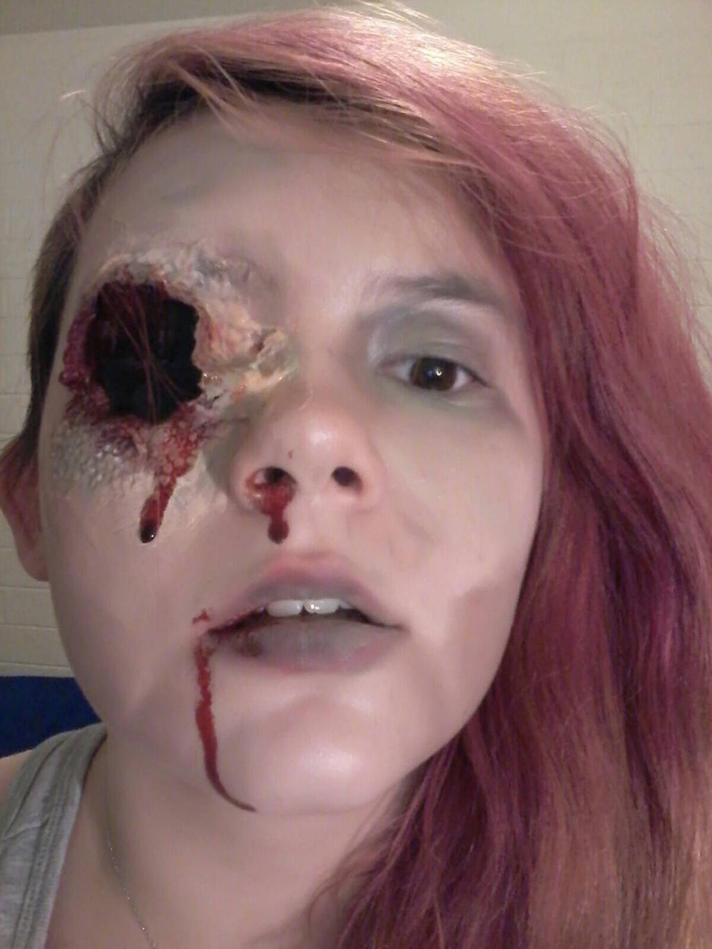 Septic Eye Makeup by eternalscouts on DeviantArt