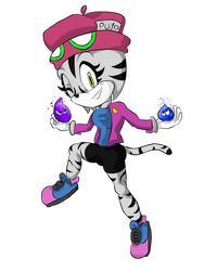 POLLI THE CAT [Sonic the Hedgehog OC]