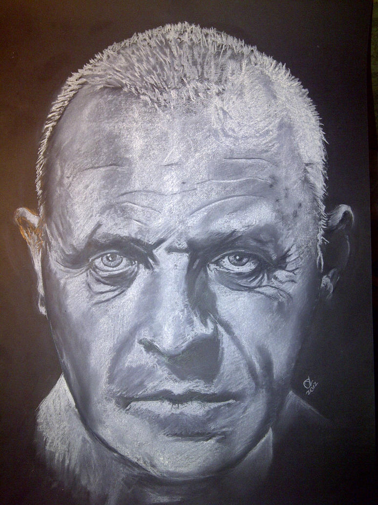 Sir Anthony Hopkins by Oll