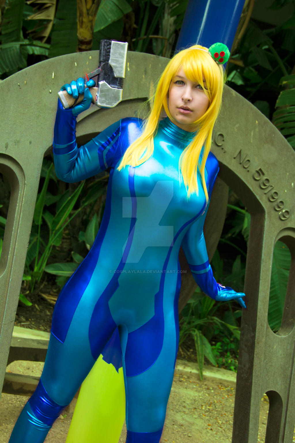 Zero Suit Samus - Metroid Other M by cosplaylala