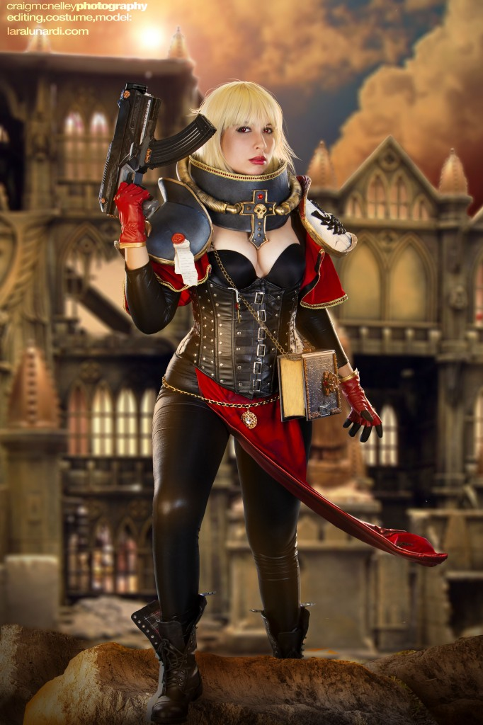 Adepta Sororitas - Sister of Battle - Warhammer40k by cosplaylala