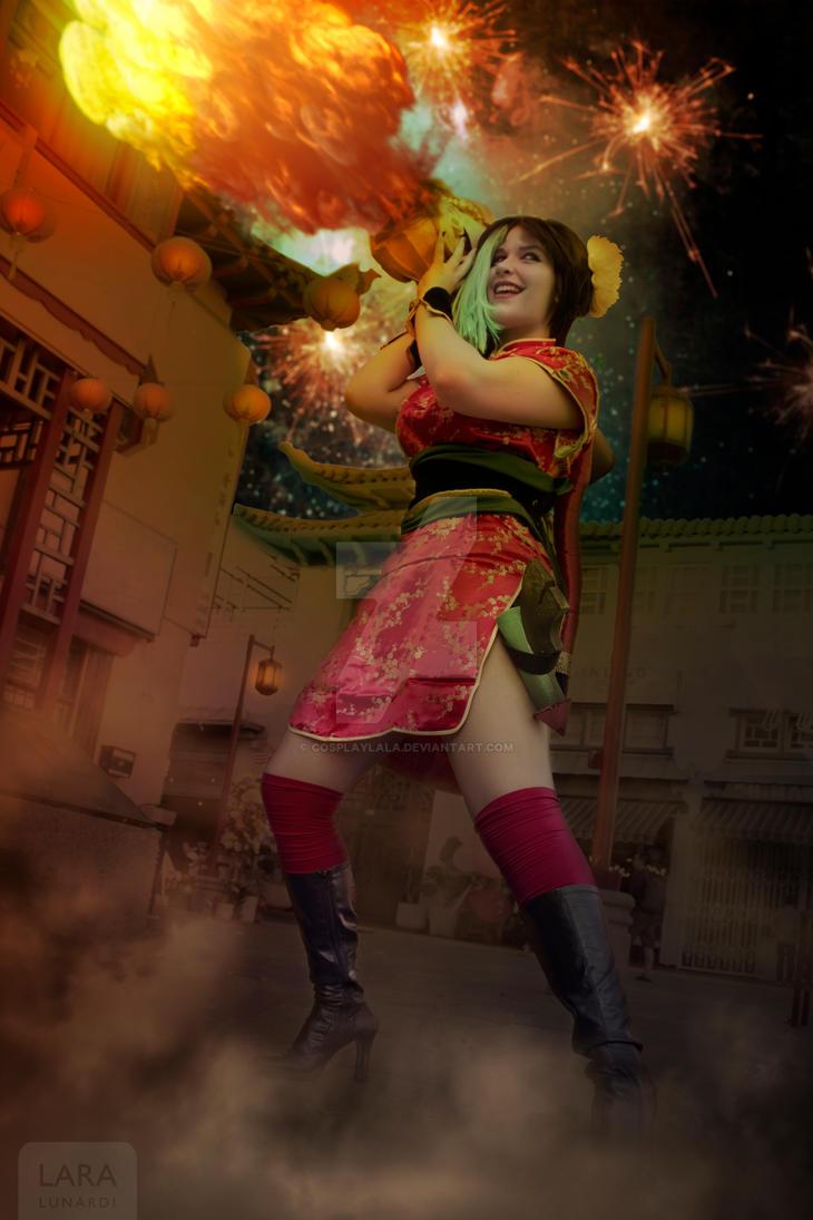 Firecracker Jinx by cosplaylala