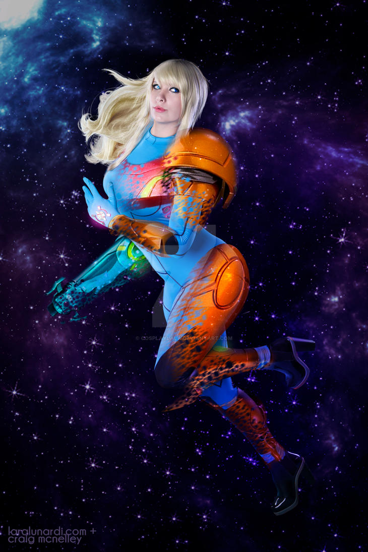 Samus Aran: Space Hero by cosplaylala