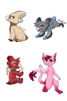 All of my childrens' friends (1) by Lotuscatdragon
