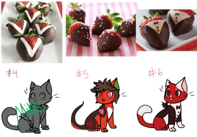 [2 open] Strawberry Chocolate Cats 2 [now cheaper] by Lotuscatdragon