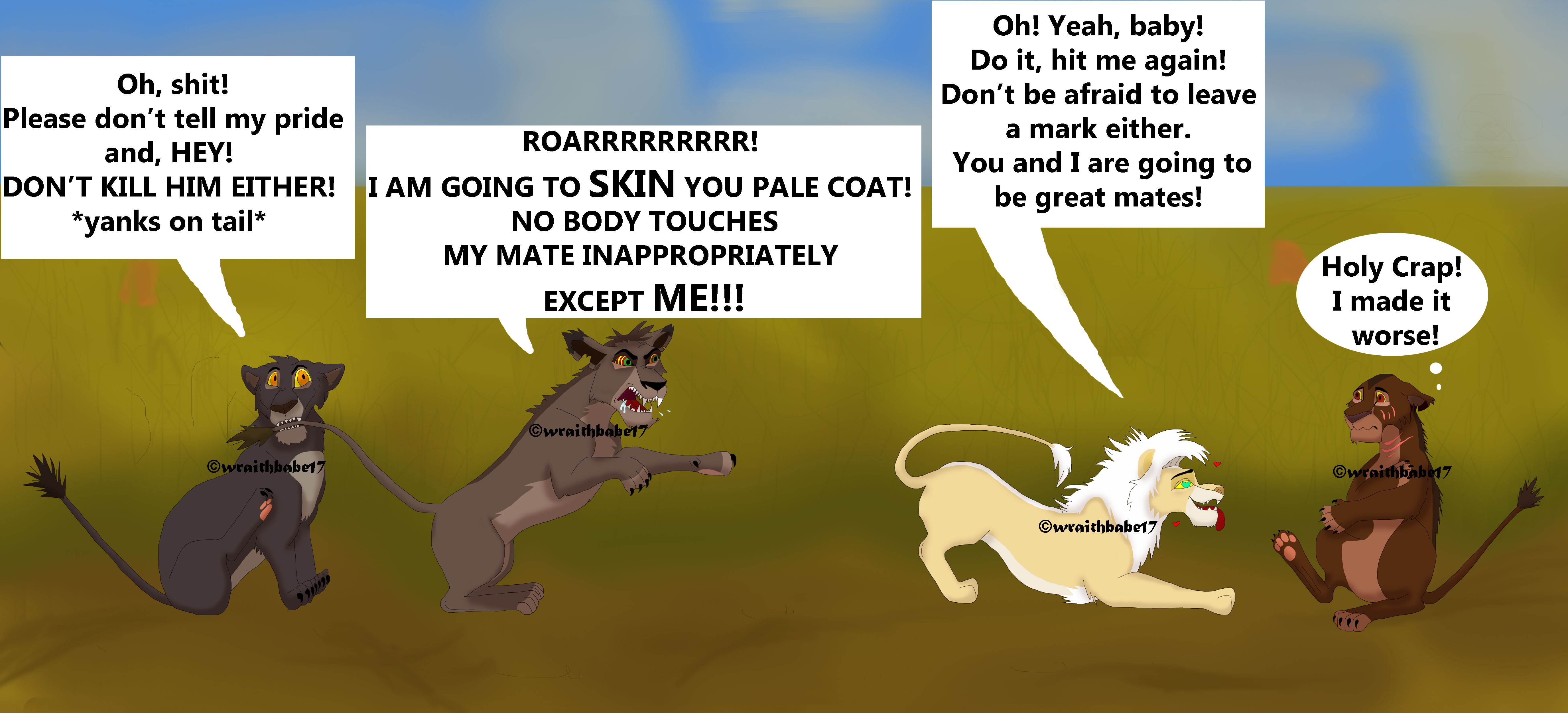 Lion King Wife Swap by wraithbabe17 on DeviantArt