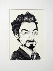 Tony Stark Caricature