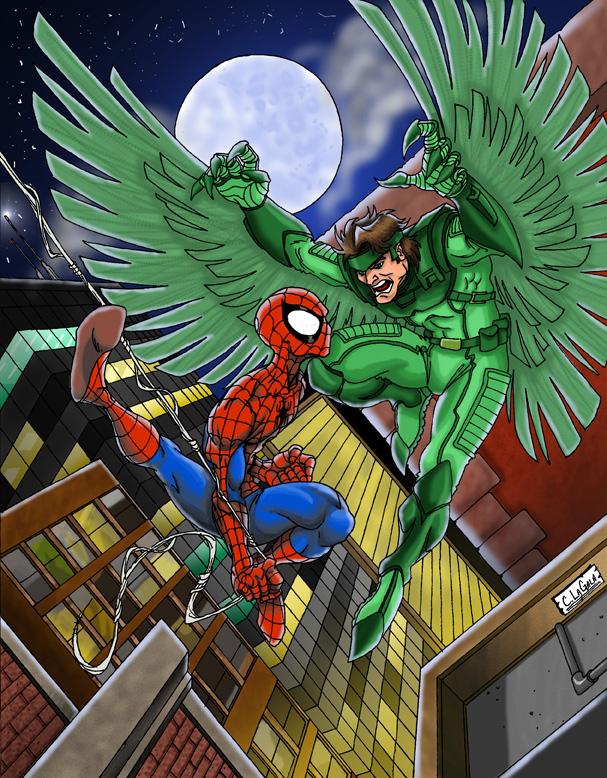 Vulture Marvel Comics Coloring Pages