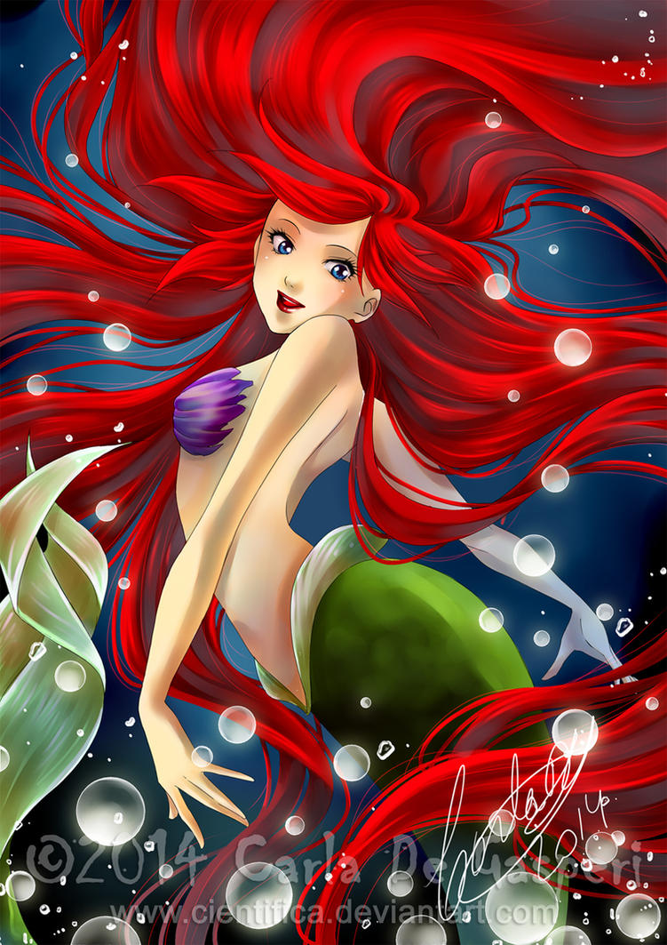 Little Mermaid by Cientifica