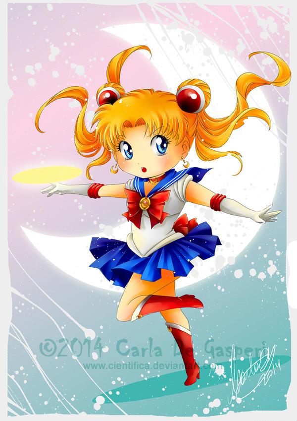 Sailor Moon SD by Cientifica