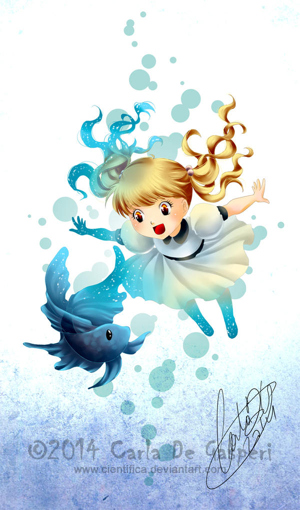 Mi pez Mascota by Cientifica