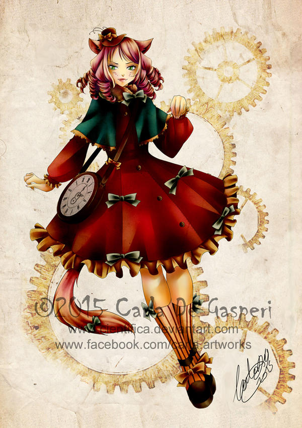 Loli Cat Steampunk by Cientifica