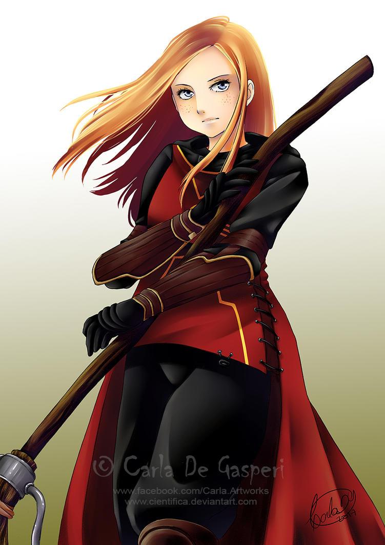 Ginny Weasley by Cientifica