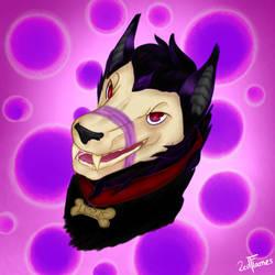 Fuzzbutt Lupus! by 2edFlames
