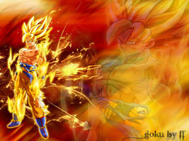 Dragon ball Z by scarabee974