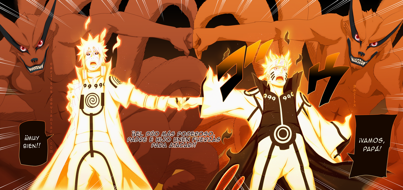 Naruto Shippuden Manga 643 -color by carl1tos