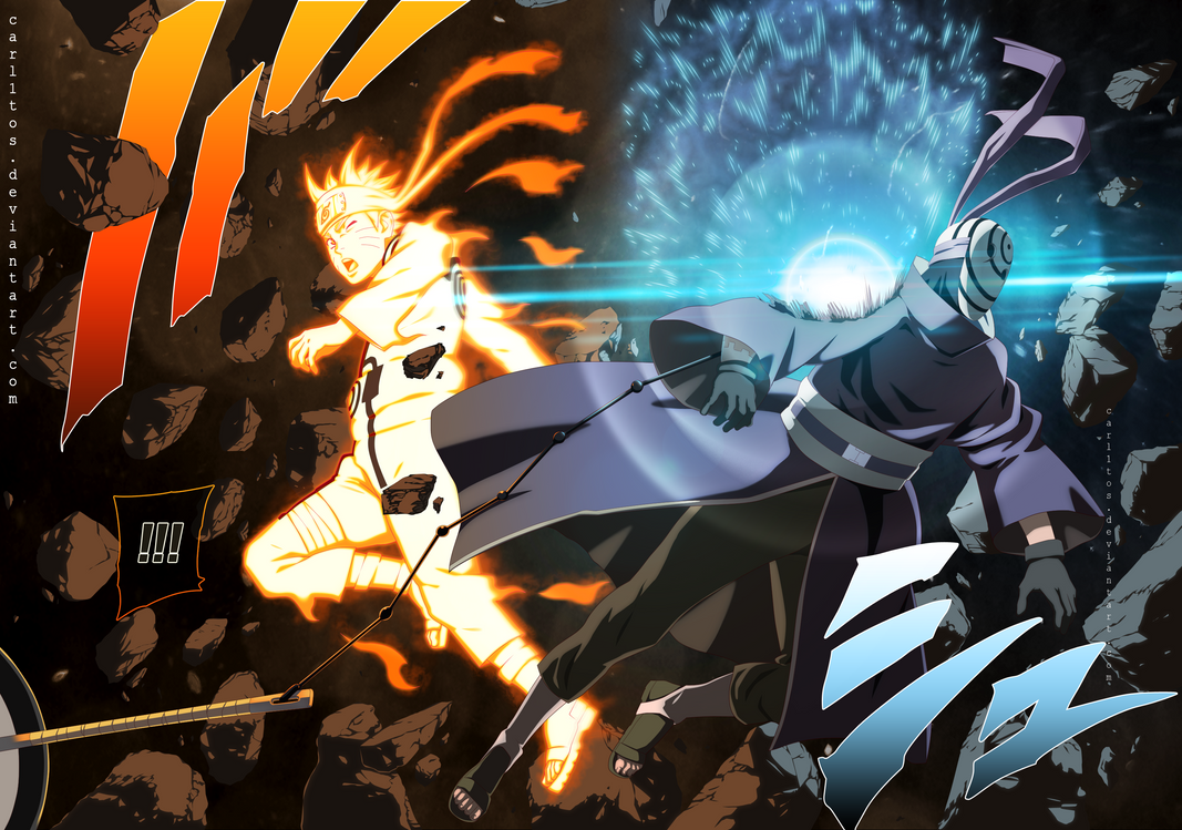Naruto Shippuden Manga 596 by carl1tos