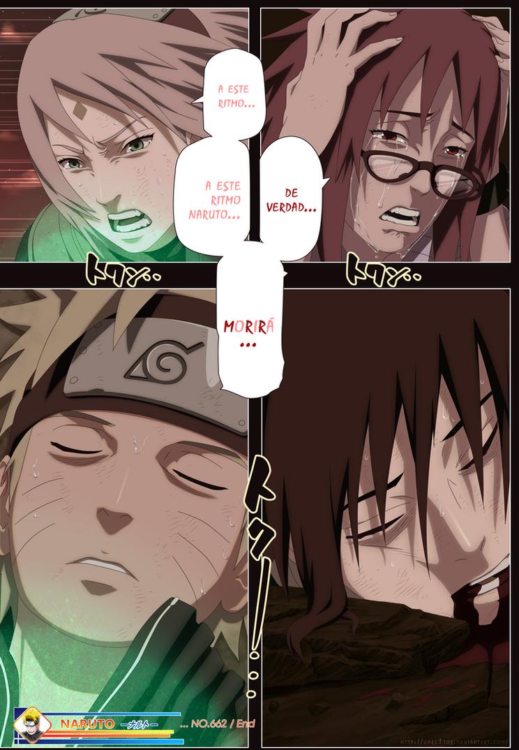 Naruto Shippuden Manga 662 by carl1tos