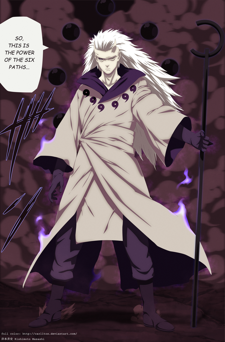 Madara juubi mode - Naruto 663 by carl1tos