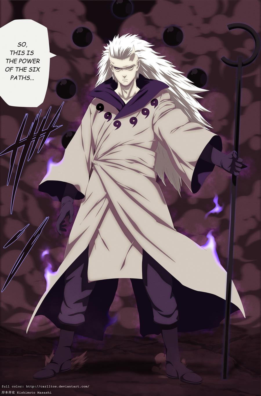 Madara juubi mode - Naruto 663 by carl1tos