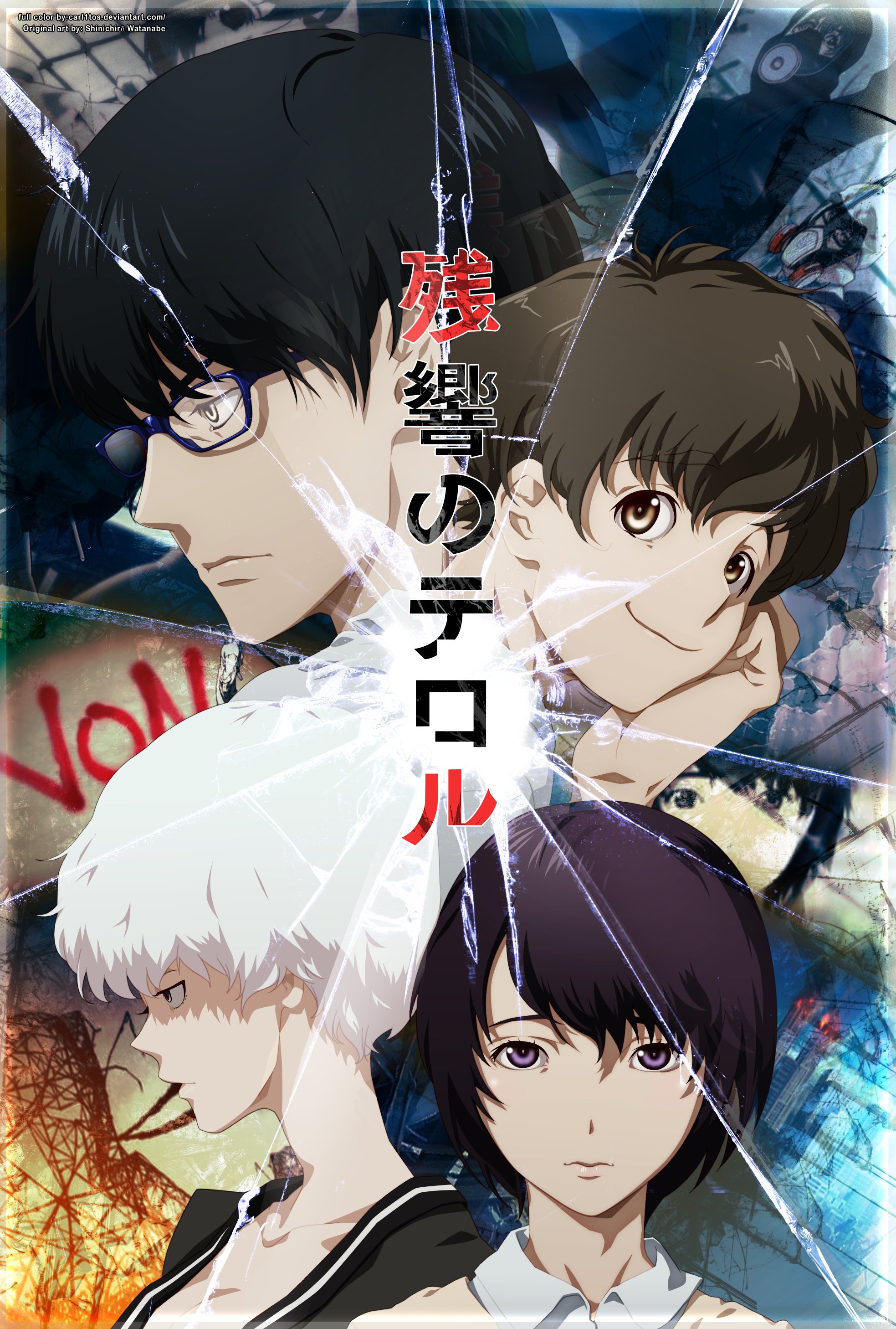 El rincon de Perpi: Anime Reseña: Zankyou no Terror