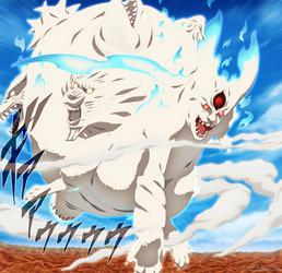 Naruto 688 - the last bijuu by carl1tos