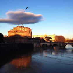 Castel Sant'angelo by esraart