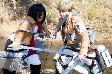 SnK: Warriors by AuroraCelsius