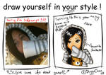 Draw Yourself In Your Style Meme