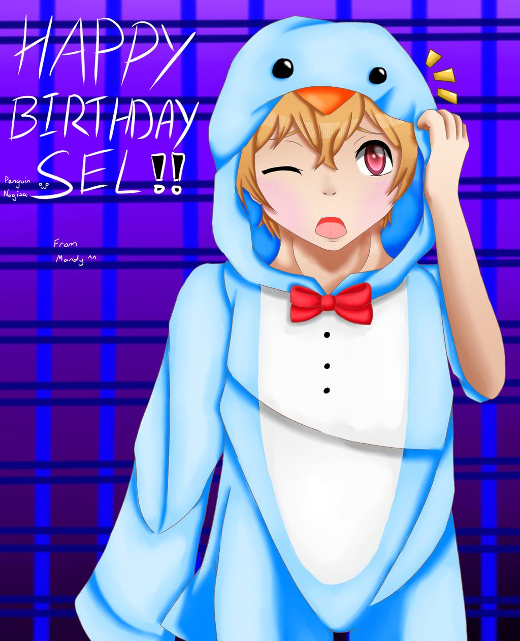 Happy birthday selsel. :D