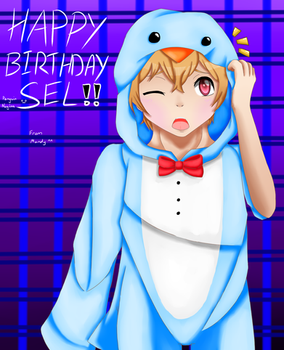 Happy birthday selsel. :D