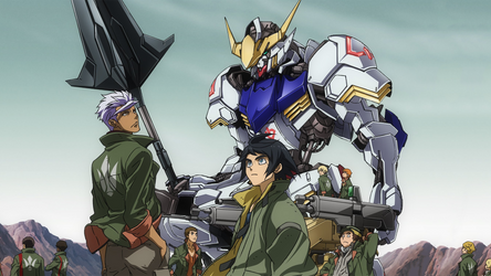 Gundam - Iron Blooded Orphans - Wallpaper v2