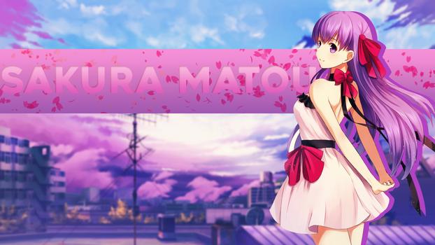 Sakura Matou - F/SN - Wallpaper