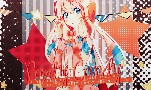 Party Candy  by Riifutani-Fiorica