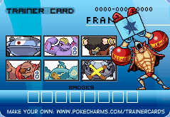 Franky's SUPER! pokemon card by captainryno